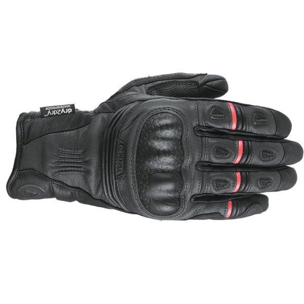 Mondial Short MS Gloves Tech Black Oxford Gloves