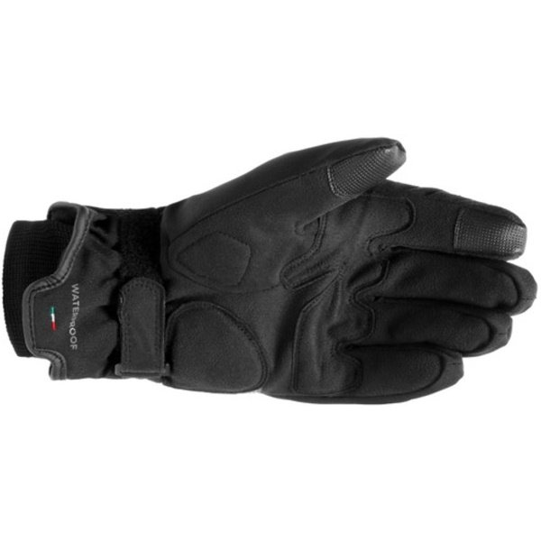 Dainese Avila D-Dry Black Anthracite Motorcycle Gloves Palm