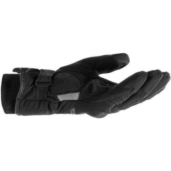 Dainese Avila D-Dry Black Anthracite Motorcycle Gloves Little Finger Edge
