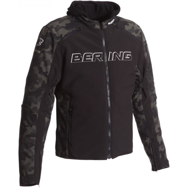Jaap Evo Jacket Black Camo Clothing