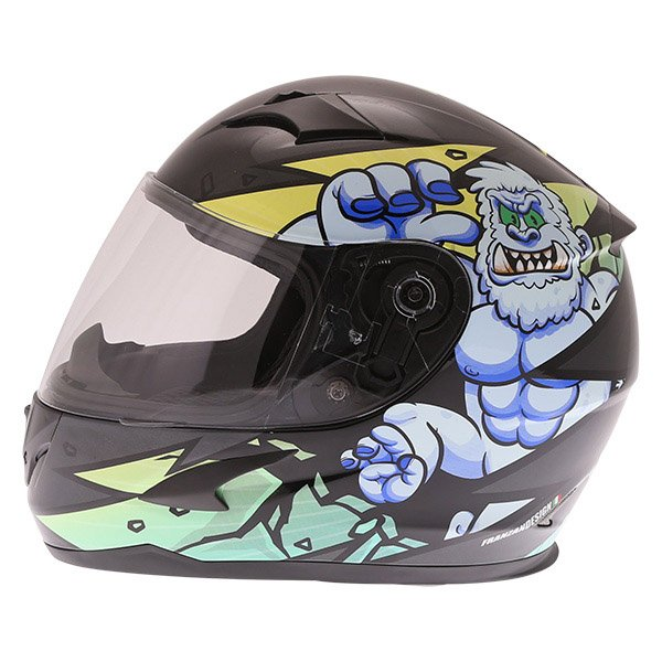 Frank Thomas FT36Y Comix Gorilla Kids Full Face Motorcycle Helmet Left Side