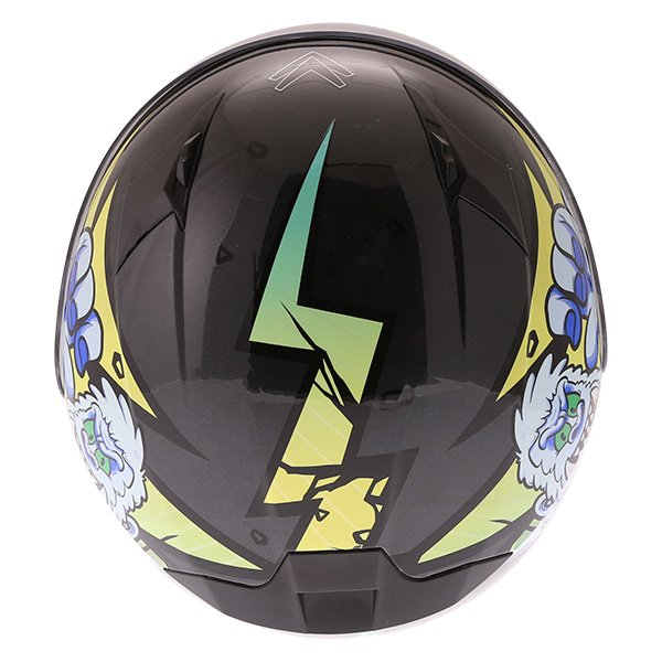 Frank Thomas FT36Y Comix Gorilla Kids Full Face Motorcycle Helmet Top