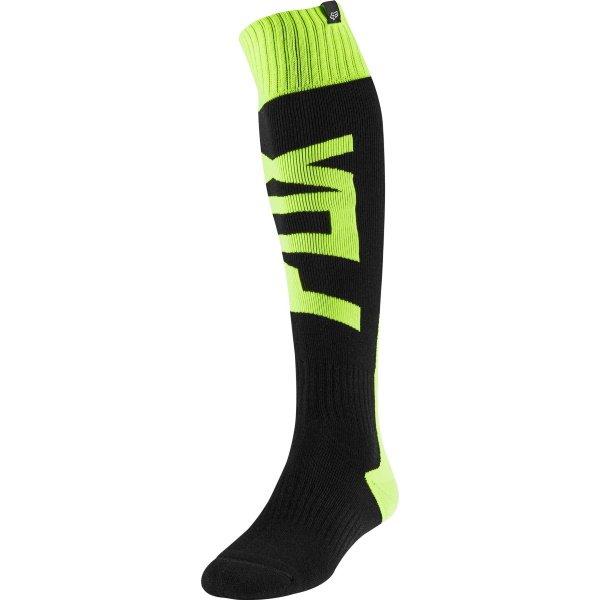 Fri Thick Sock - Fyce Flo Yellow Motocross Accessories