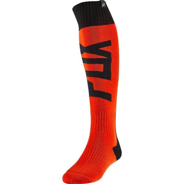 Fri Thick Sock - Fyce Flo Orange Motocross Accessories
