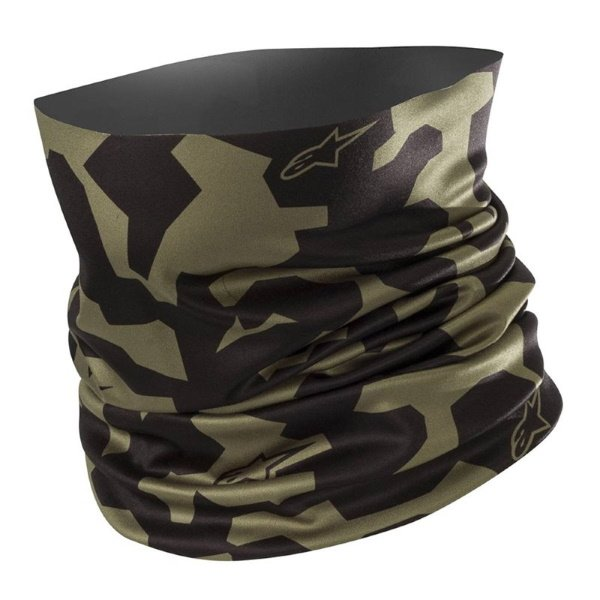 Alpinestars Military Green Black Camo Neck Tube