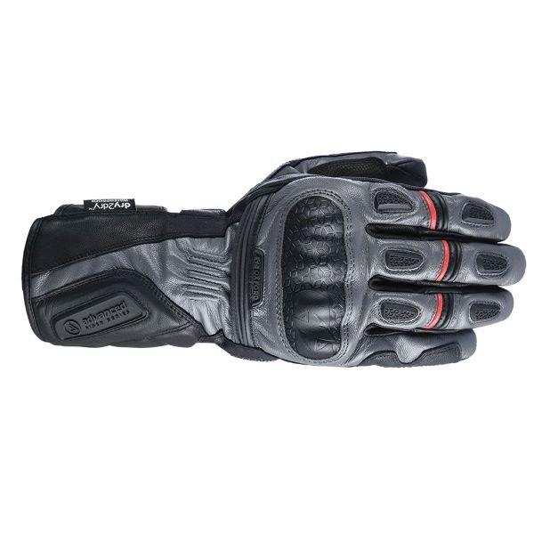 Mondial Long MS Gloves Grey Black Oxford Gloves
