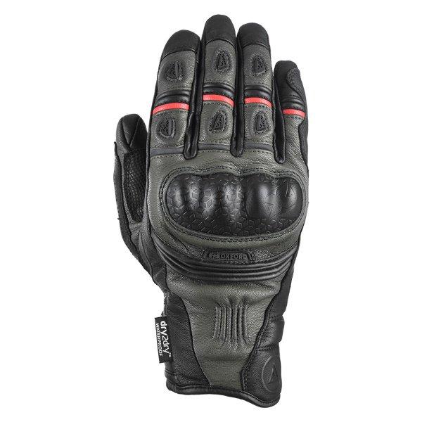 Mondial Short MS Gloves Tech Green Oxford Gloves