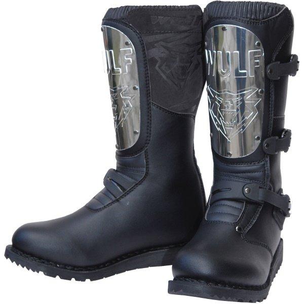 Black Knight Boots Black Motocross Boots