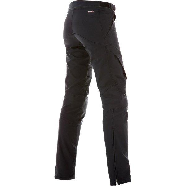 Dainese New Drake Air Ladies Black Texile Motorcycle Pants Rear
