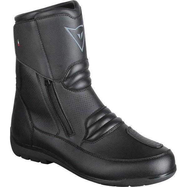 Dainese Nighthawk D1 Goretex Low Black Motorcycle Boots