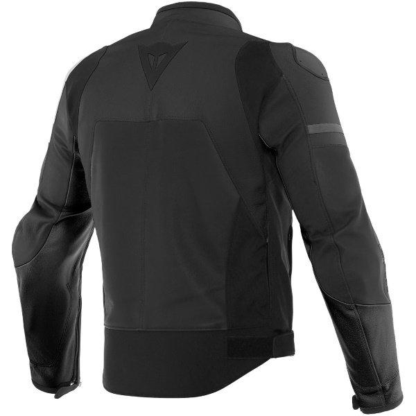 Dainese Agile Matt Black Motorcycle Jacket Back
