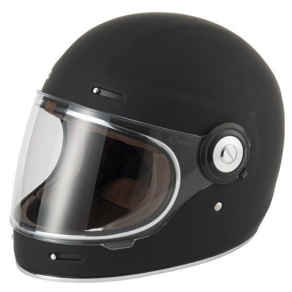 V135 Retro Helmet Matt Black