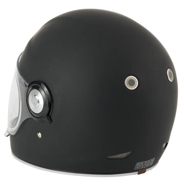 Vcan V135 Retro Helmet Matt Black Size: XS