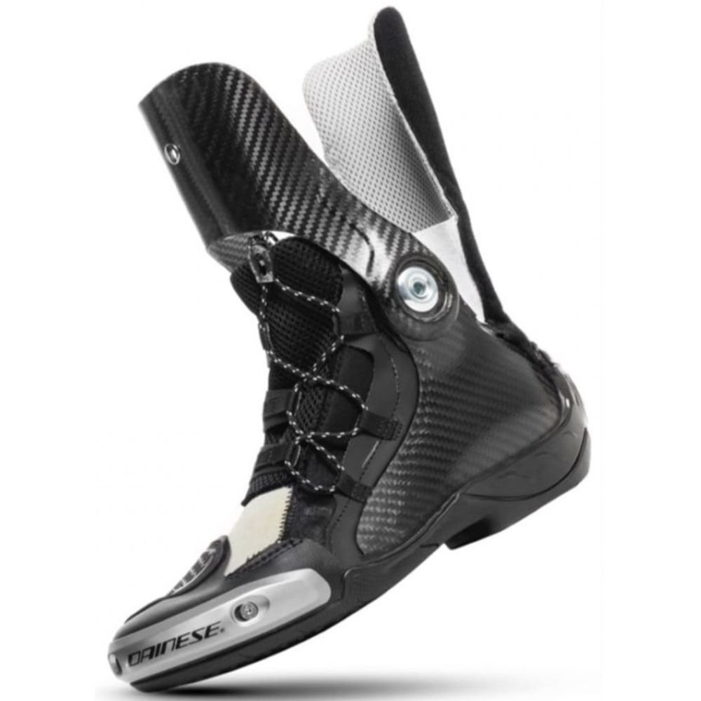 Dainese Axial D1 Boots Black White Black White
