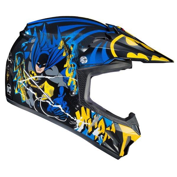 HJC CL-XY II Batman Kids Motoross Helmet Right Side
