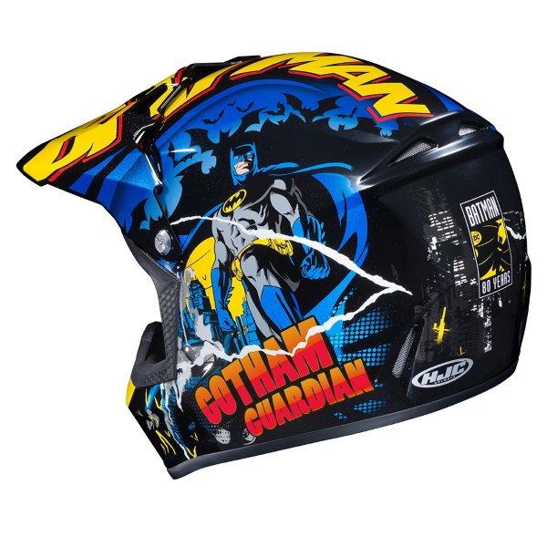 HJC CL-XY II Batman Kids Motoross Helmet Back Left
