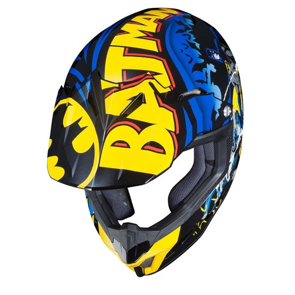 HJC CL-XY II Batman Kids Motoross Helmet Top