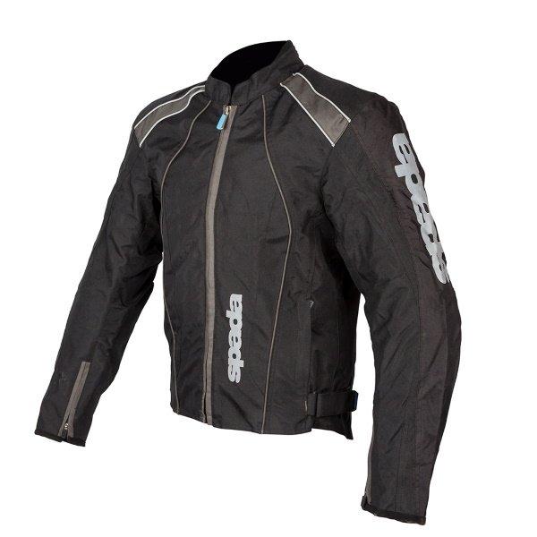 Spada Plaza WP Jacket Black Gun Size: Mens UK - M