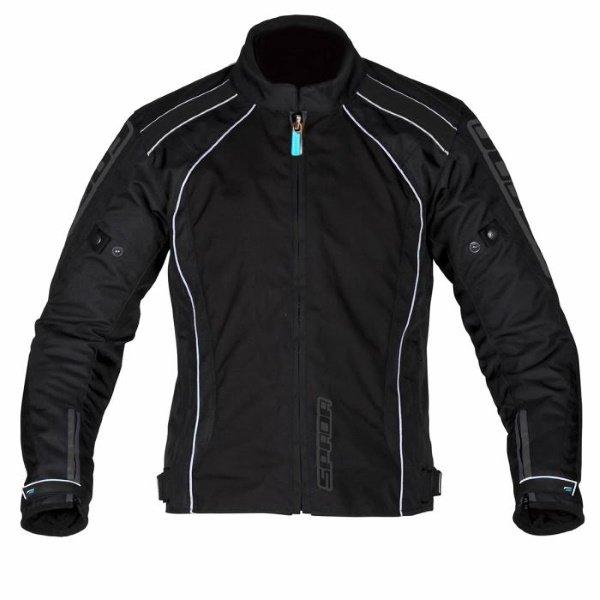 Plaza WP Jacket Black Reflective Spada Clothing