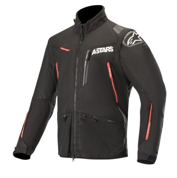 Alpinestars Venture R Black Red Motorcycle Jacket Front
