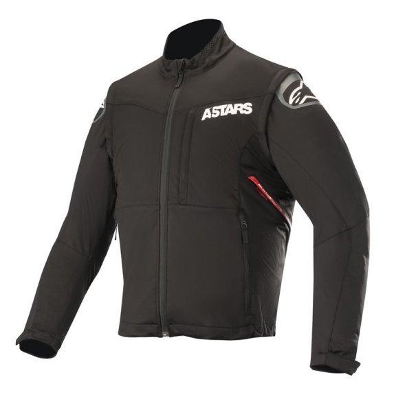 Alpinestars Black Red Session Race Enduro Jacket Front