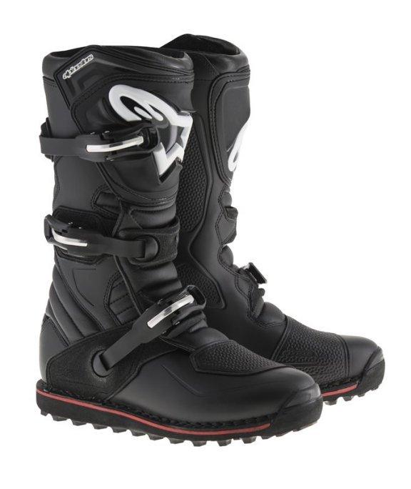 Alpinestars Tech T Black Red MX Boots
