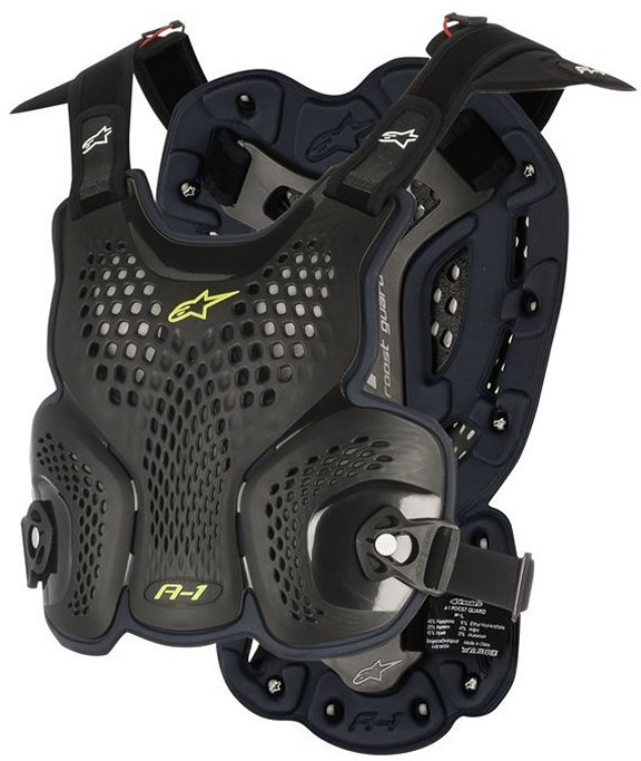 Alpinestars A-1 Roost Guard Black Anthracite MX Body Armour
