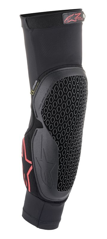 Alpinestars Bionic Flex Black Red Elbow Protector