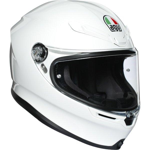 K6 Helmets White