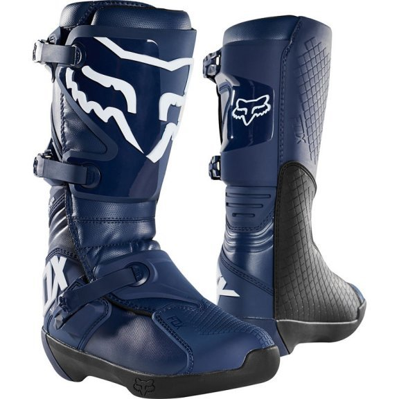Comp Boots Navy Motocross Boots