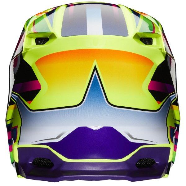 Fox V1 Gama Helmet Yellow Size: S