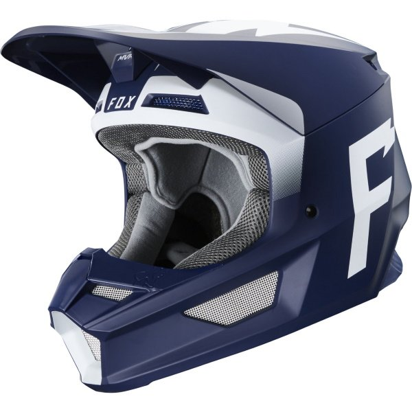 V1 Werd Helmet Navy Motorcycle Helmets