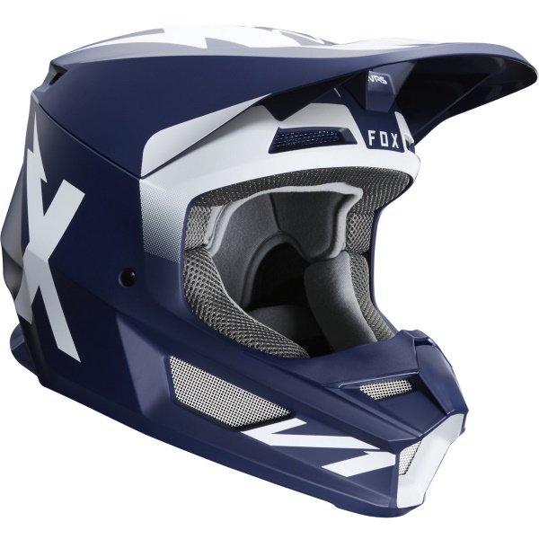 Fox V1 Werd Helmet Navy Size: S