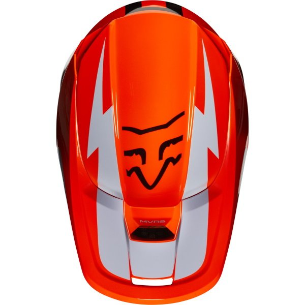 Fox V1 Werd Helmet Orange Size: S