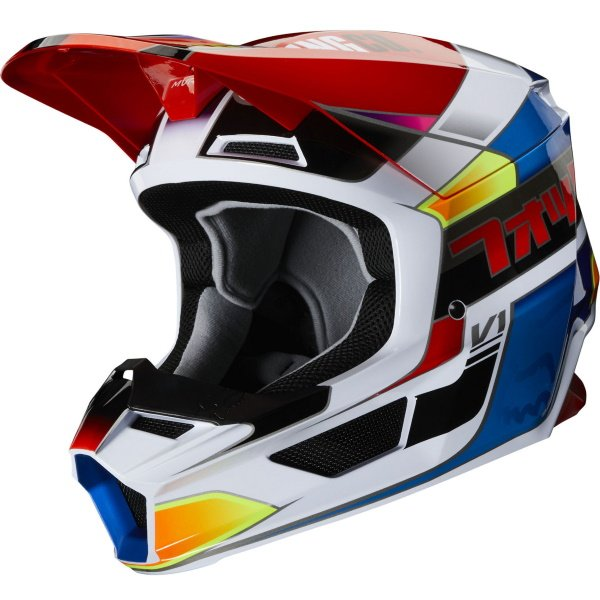 V1 Yorr Helmet Blue Red