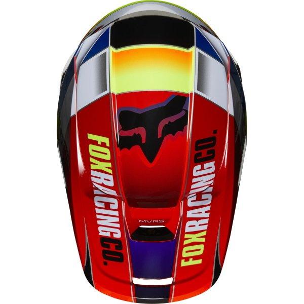 Fox V1 Yorr Helmet Blue Red Size: S
