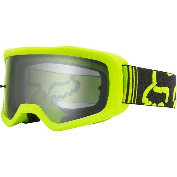 Fox Main Fluo Yellow MX Goggles