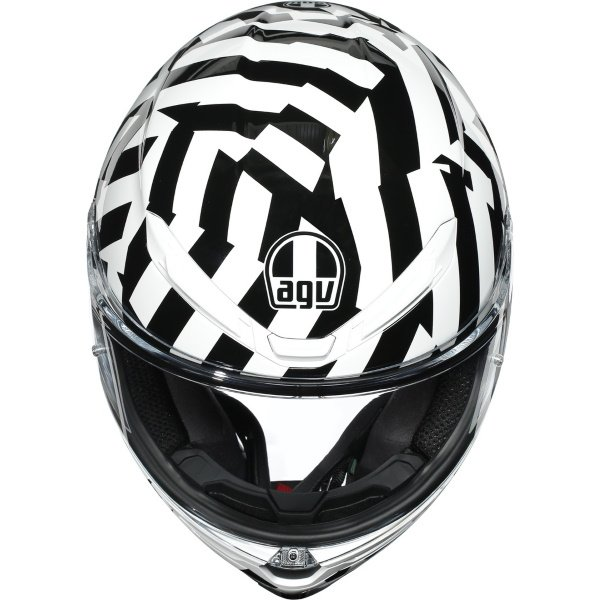 AGV K6 Secret Helmet Black Size: S