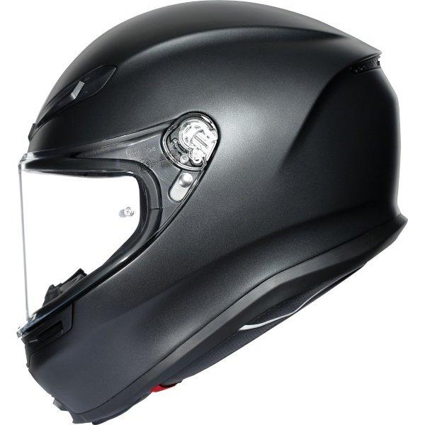 AGV K6 Solid Helmet Matt Black Size: S
