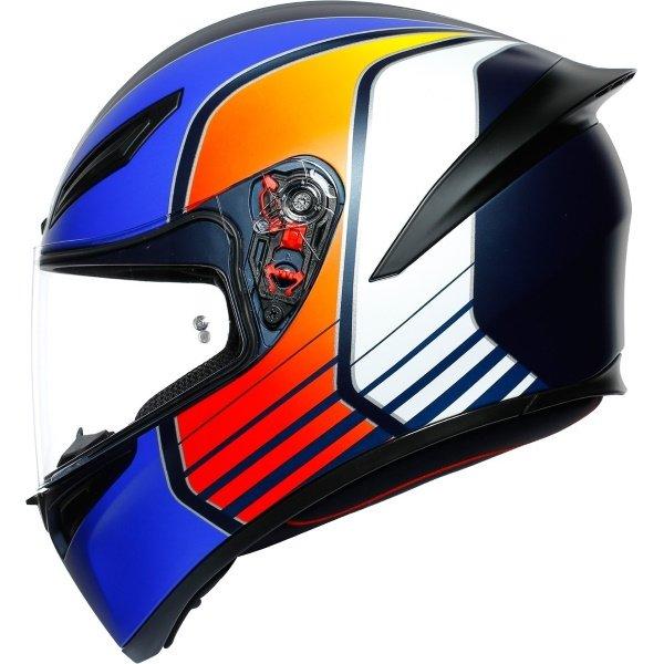 AGV K1 Power Helmet Blue Size: S
