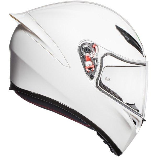 AGV K1 Plain Helmet White Size: S