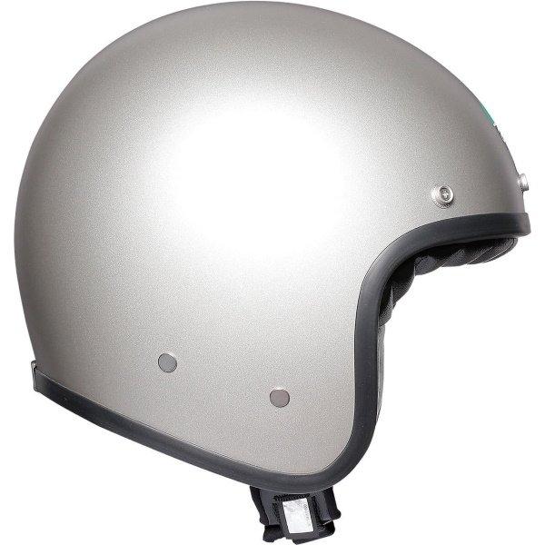 AGV X70 Mono Matt Grey Open Face Motorcycle Helmet Right