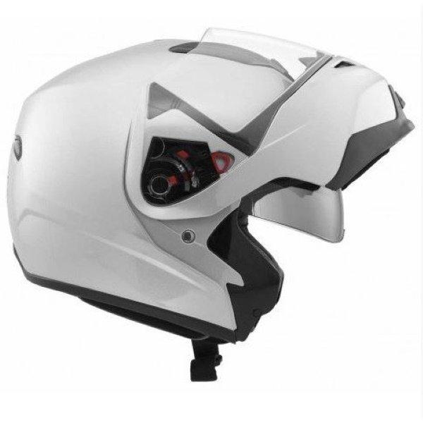 MD200 Solid Helmet White MDS Helmets