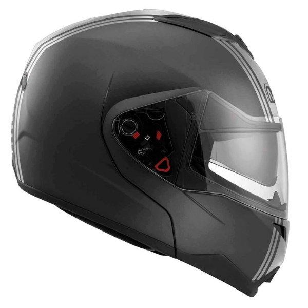 MD200 Advance Helmet Black MDS Helmets