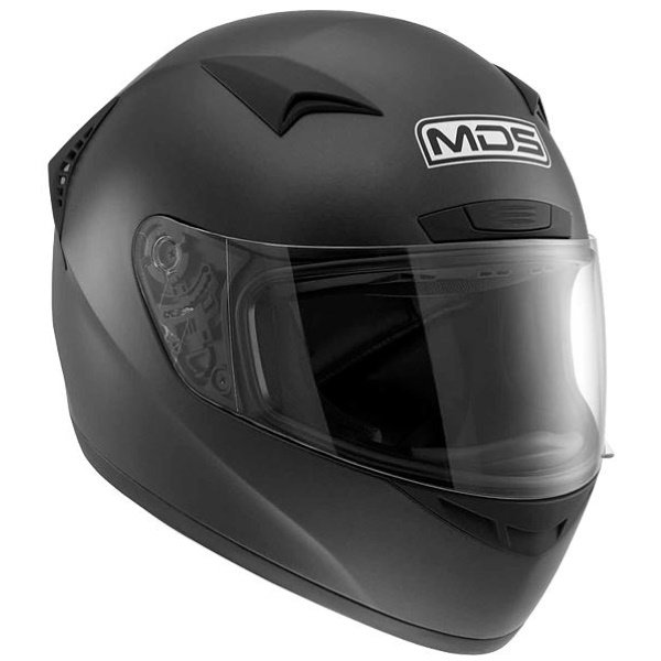 M13 Solid Helmet Matt Black MDS Helmets