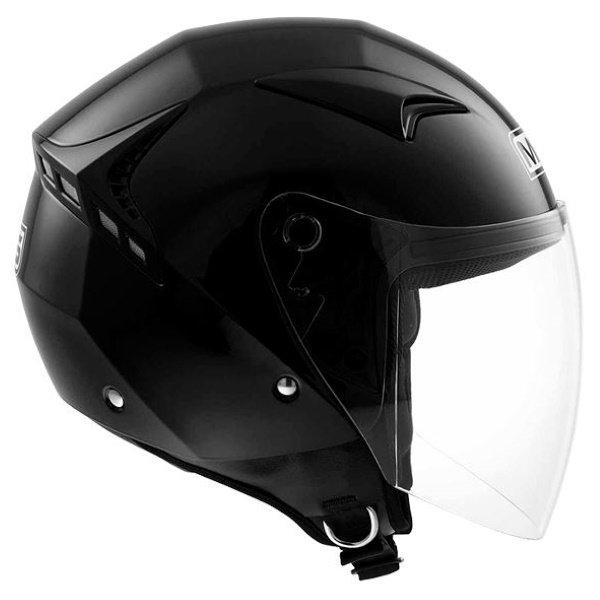 G240 Solid Helmet Black MDS Helmets