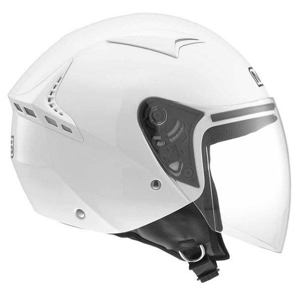 G240 Solid Helmet White MDS Helmets