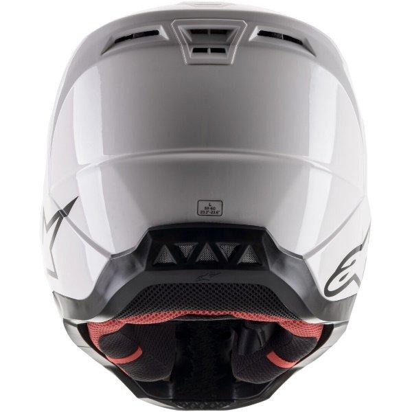 Alpinestars S-M5 Helmet White Size: S