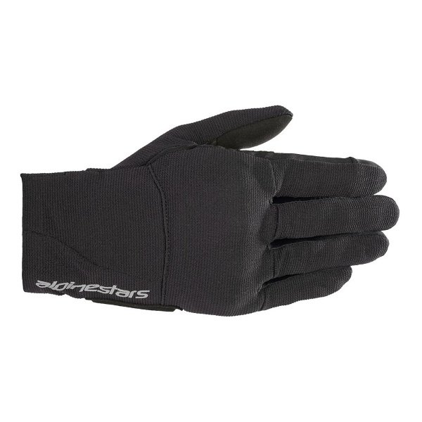 Alpinestars Reef Womens Black Reflective Motorcycle Gloves Back