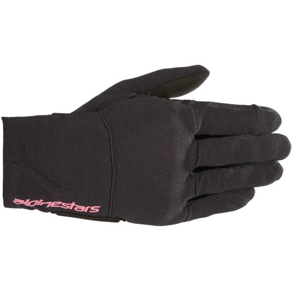 Alpinestars Reef Womens Black Fuchsia Motorcycle Gloves Back